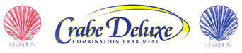 Champion Seafood and Crab Deluxe Logos